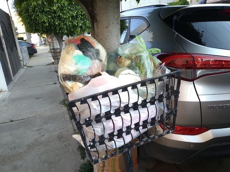 Exigen ciudadanos solución al problema de recolección