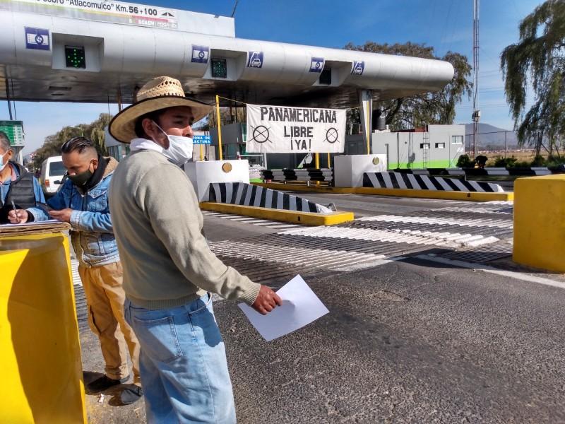 Exigen eliminar peaje de la carretera Toluca-Atlacomulco