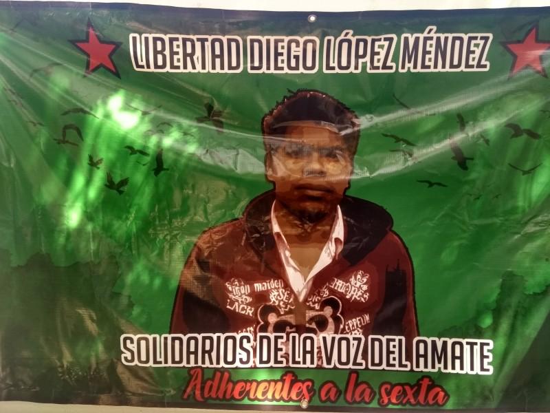 Exigen libertad de indígena encarcelado injustamente