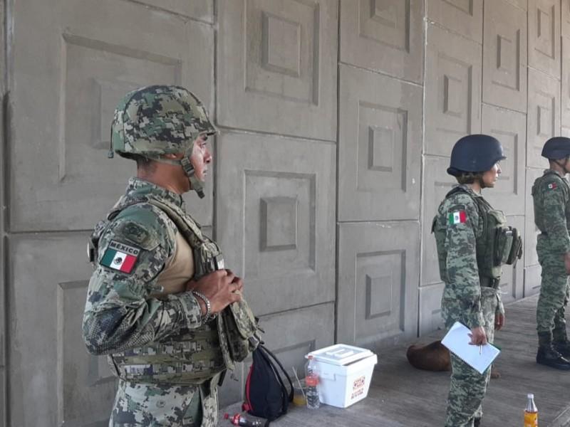 Exigen pobladores, mayor seguridad en la frontera sur