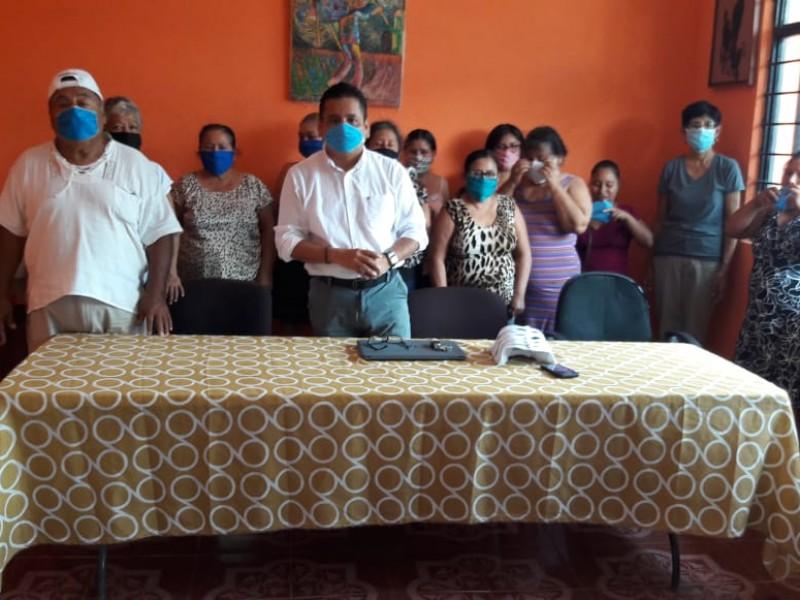 Denuncian posible acto proselistismo del programa de reconstrucción en Juchitán