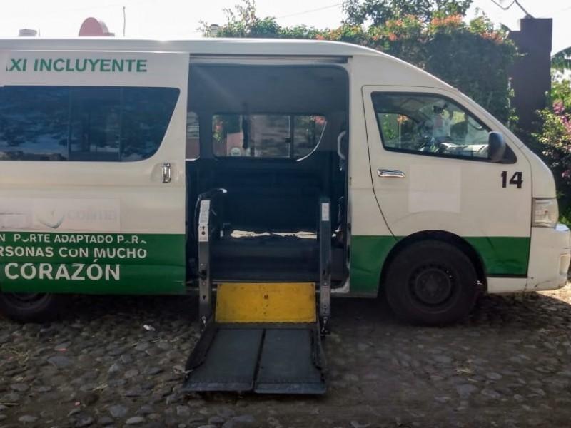 Exigen se regularice el servicio de taxis incluyentes