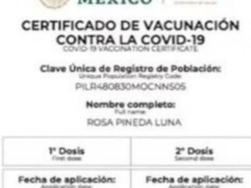 Exigir carnet anticovid,  será determinación de autoridades de salud