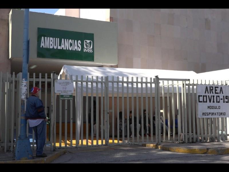 📹Existe ligera disminución de ocupación hospitalaria
