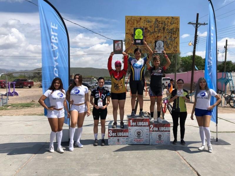 Éxito en maratón Kikapú de MTB