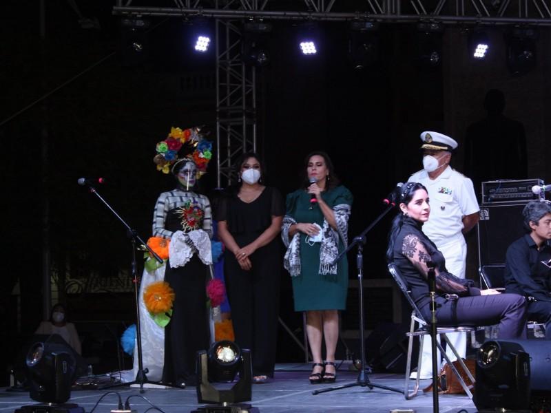 Exitosa edición virtual-presencial de Festival de la Calaca
