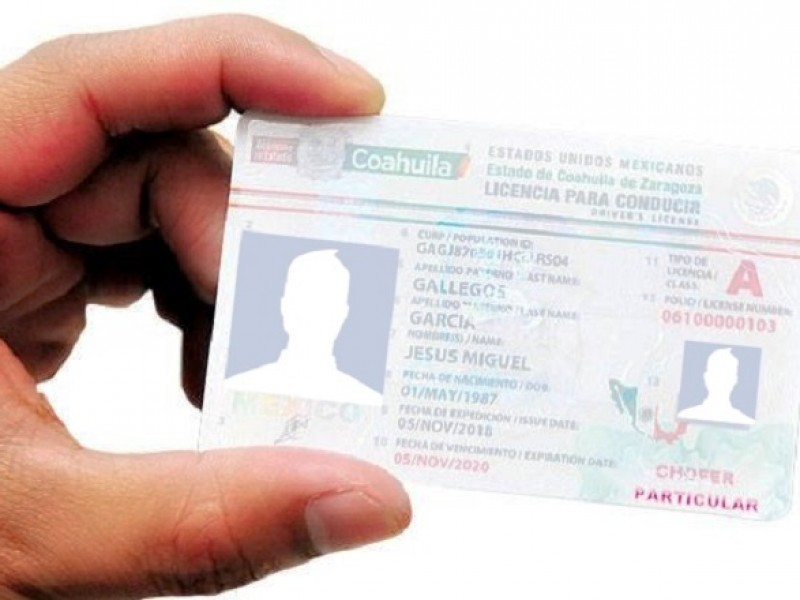Expiden nueva licencia para conducir con