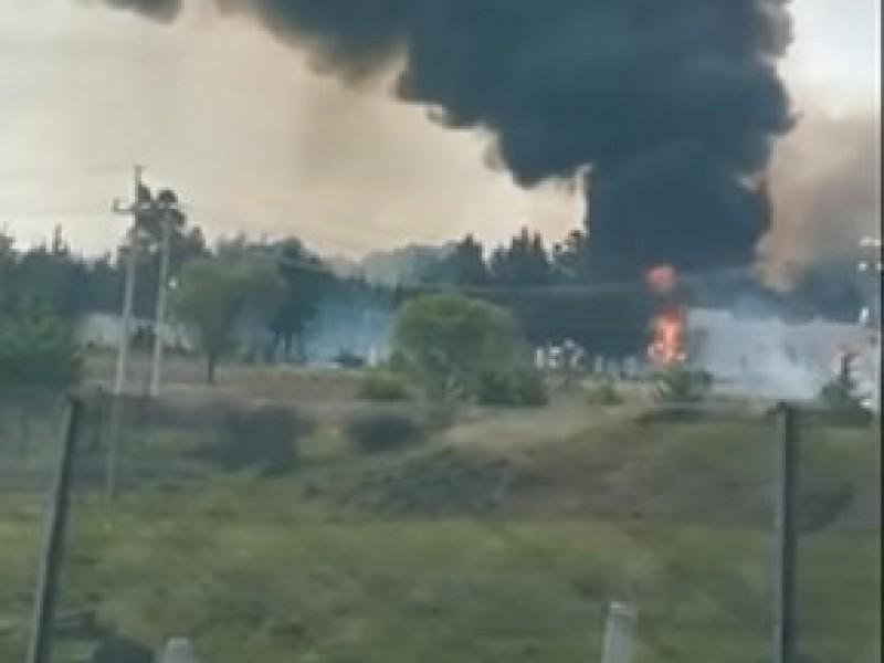 (VIDEO)Explosión de polvorín deja al menos 15 lesionados con quemaduras