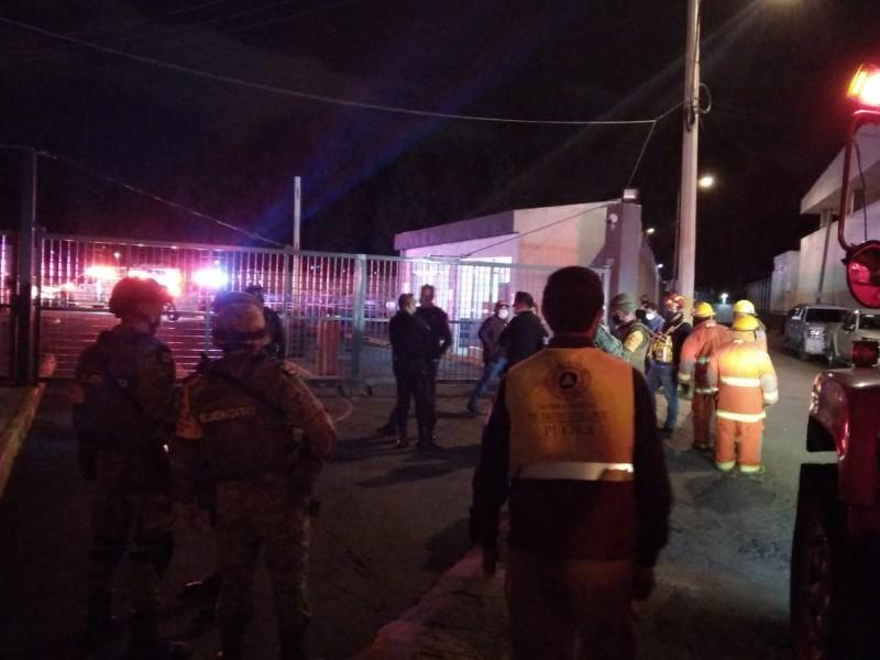 Explosión deja 2 muertos en las instalaciones de la FGR