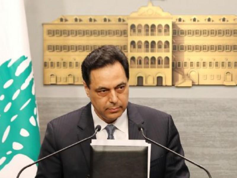 El gobierno de Líbano renuncia, tras la explosión en Beirut