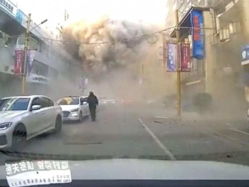 Explosión en China deja 33 heridos y un muerto