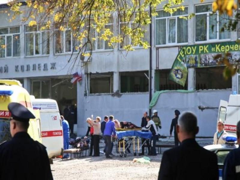 Explosión en escuela de Crimea deja 18 muertos