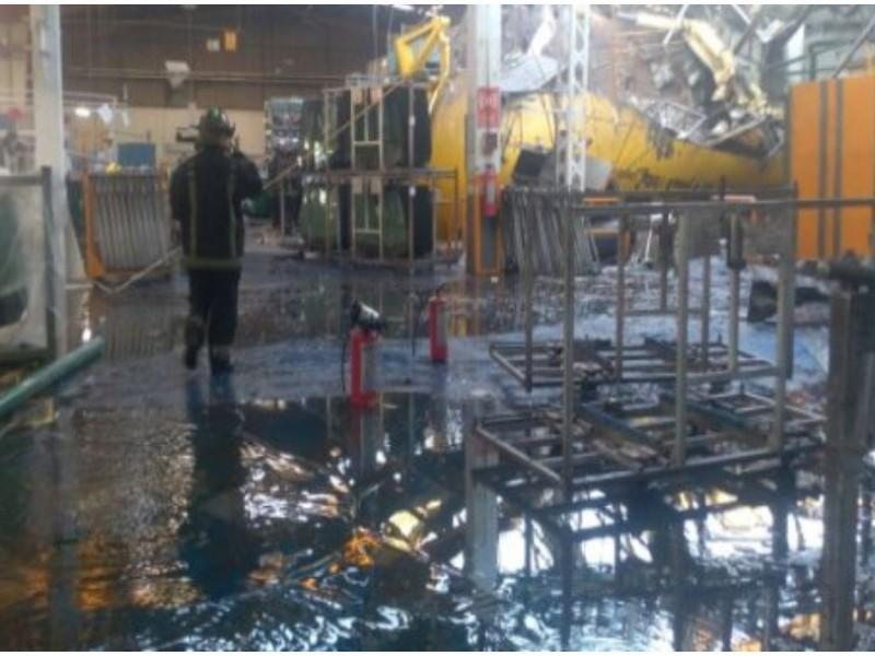 Explosión en fábrica de Ecatepec deja victimas