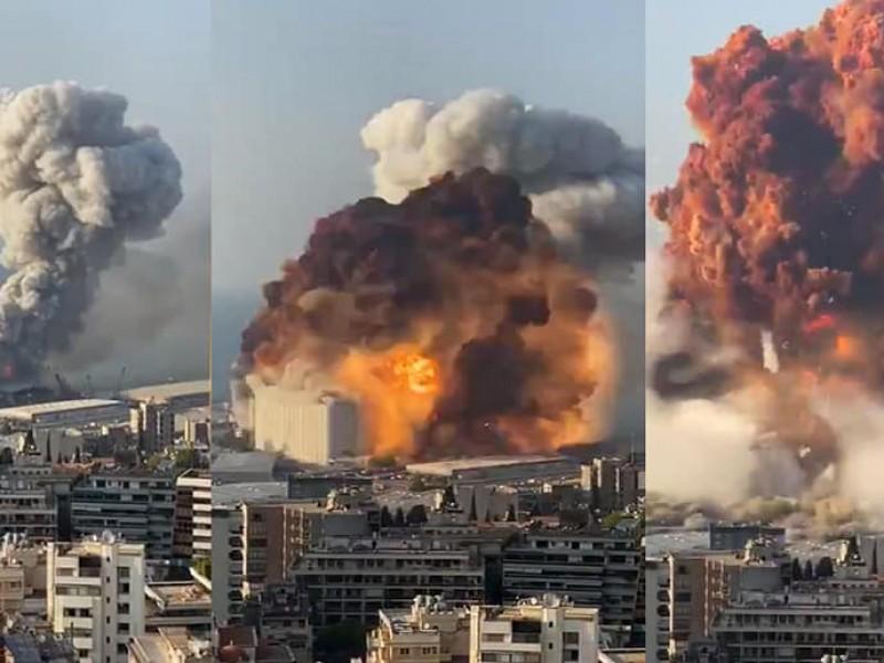 Explosión en Beirut, Líbano deja 73 muertos y 3,700 heridos