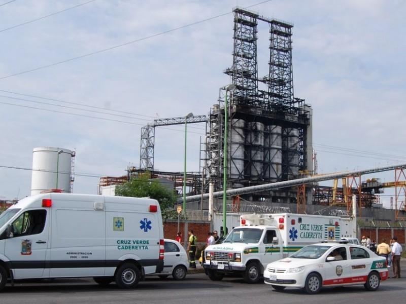 Explosión en Refinería de Cadereyta, Nuevo León, deja cinco lesionados