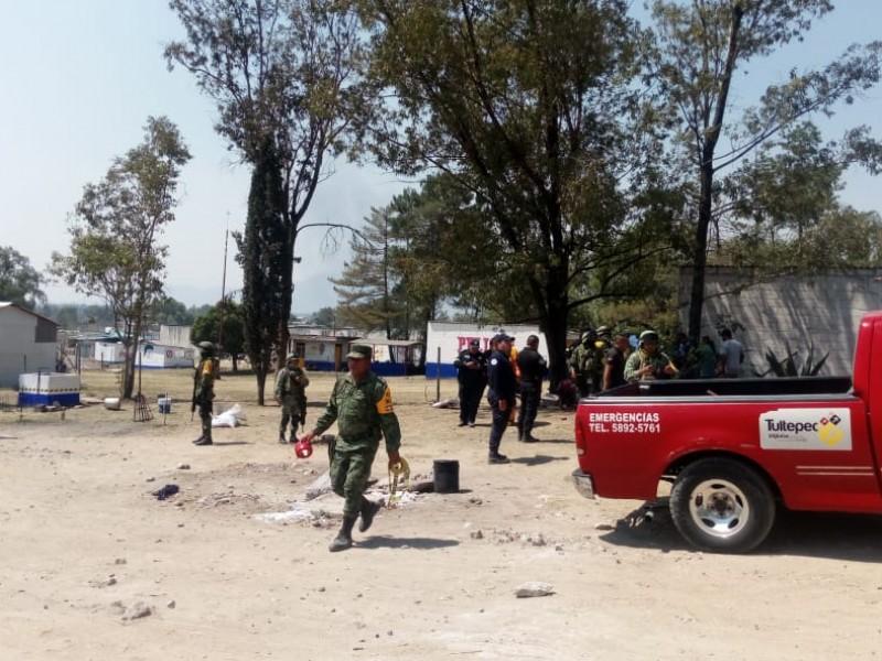 Explosiones en Tultepec: un muerto y varios lesionados