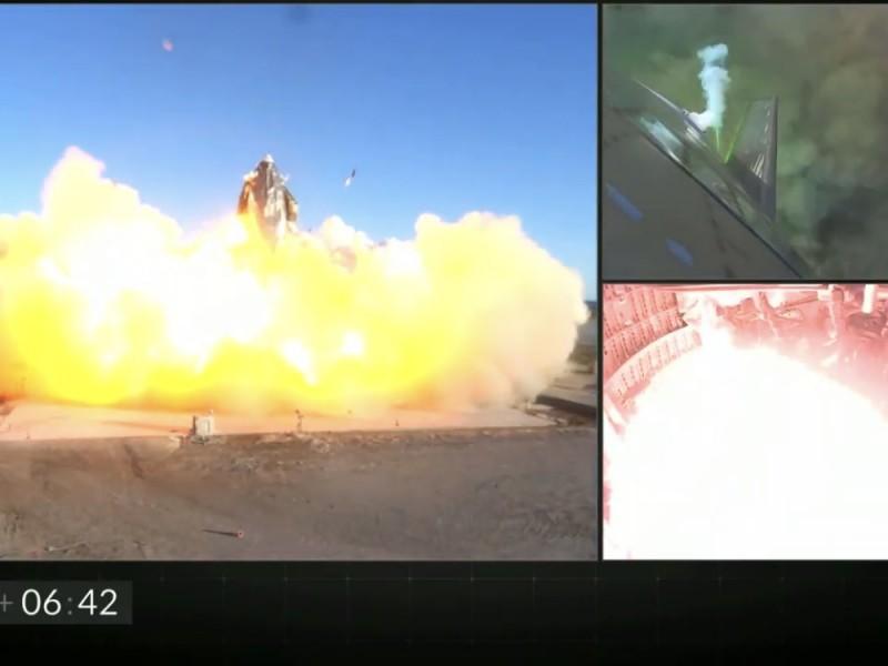 Explota prototipo de nave espacial SpaceX al tratar de aterrizar