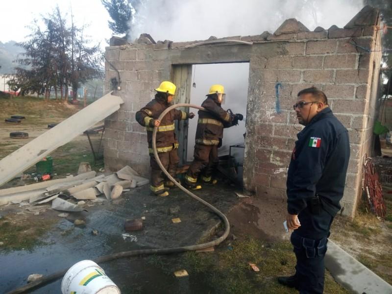 Explota taller de pirotecnia en Tultepec