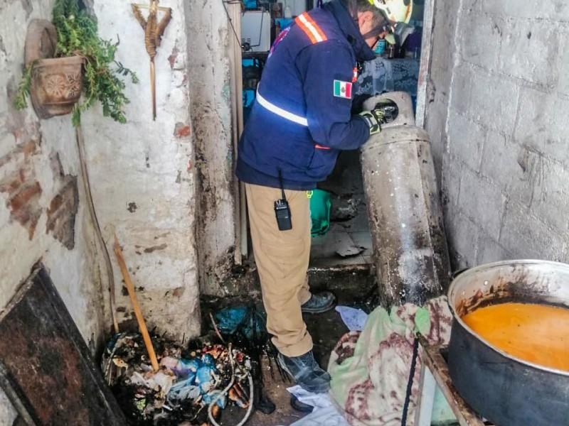 Explota tanque de gas en El Marqués