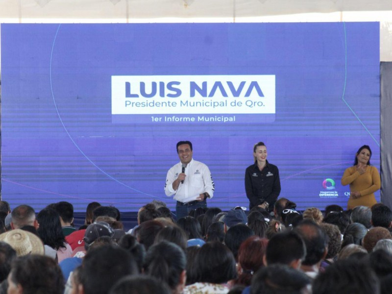 Expone Luis Nava principales logros en Epigmenio González