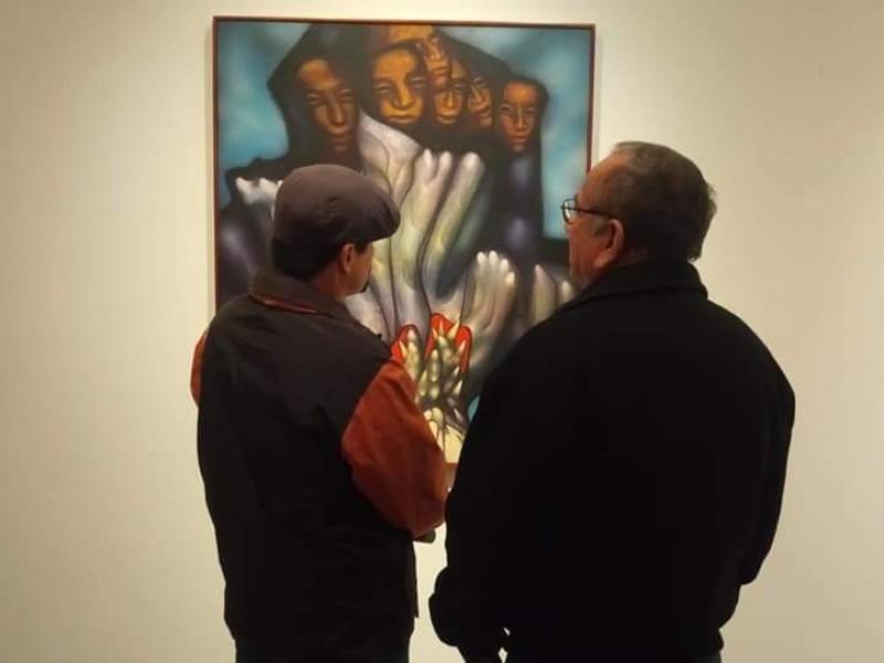 Exponen arte mexicano en Galería Itson