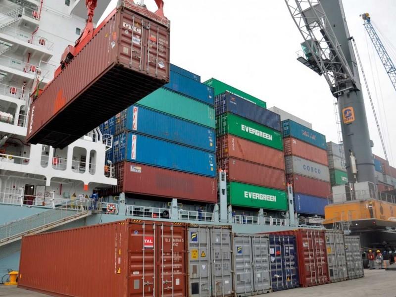 Exportaciones aumentan 10.1% anual en agosto