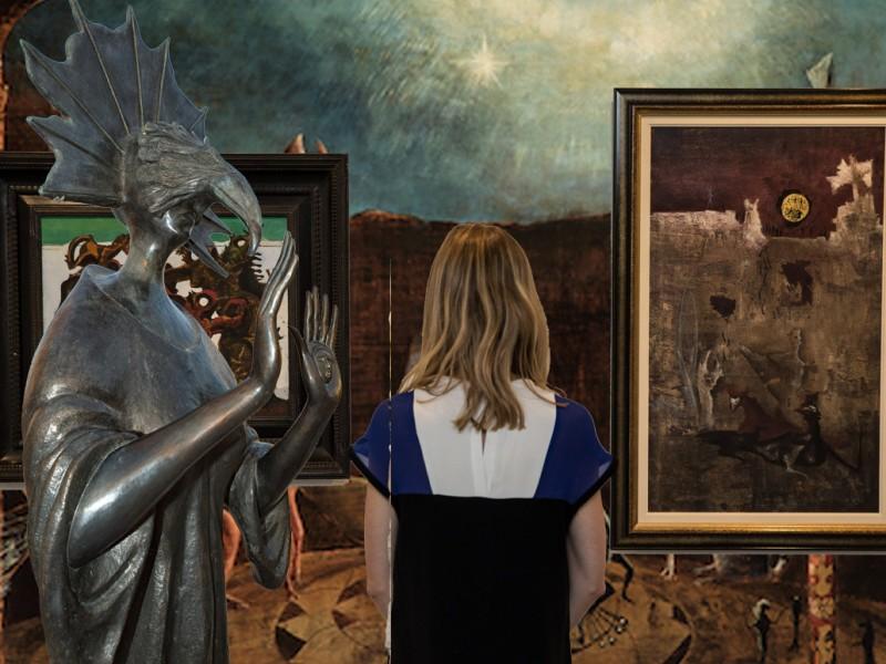 Exposición de Leonora Carrington reúne a miles