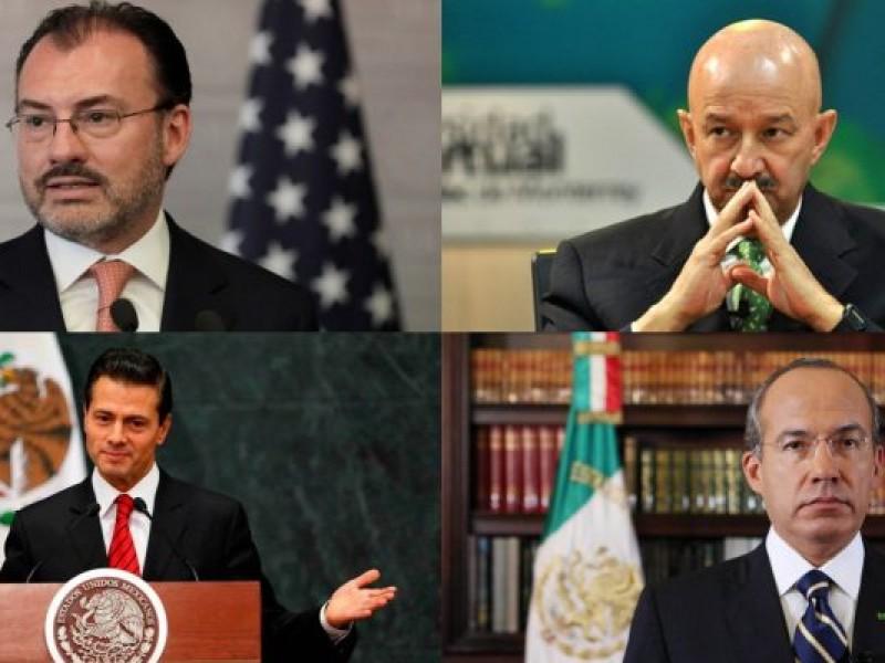 Expresidentes, legisladores y secretarios... todos denunciados por Emilio Lozoya