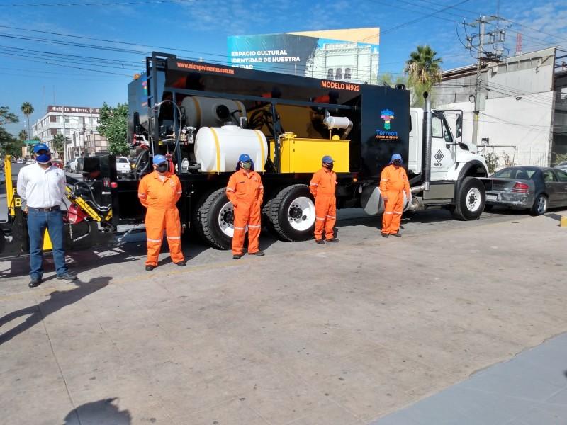 Extenderán bacheo, recarpeteo y pavimentación a colonias de Torreón