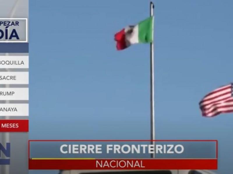 Extienden cierre fronterizo entre México y EE.UU por Covid-19