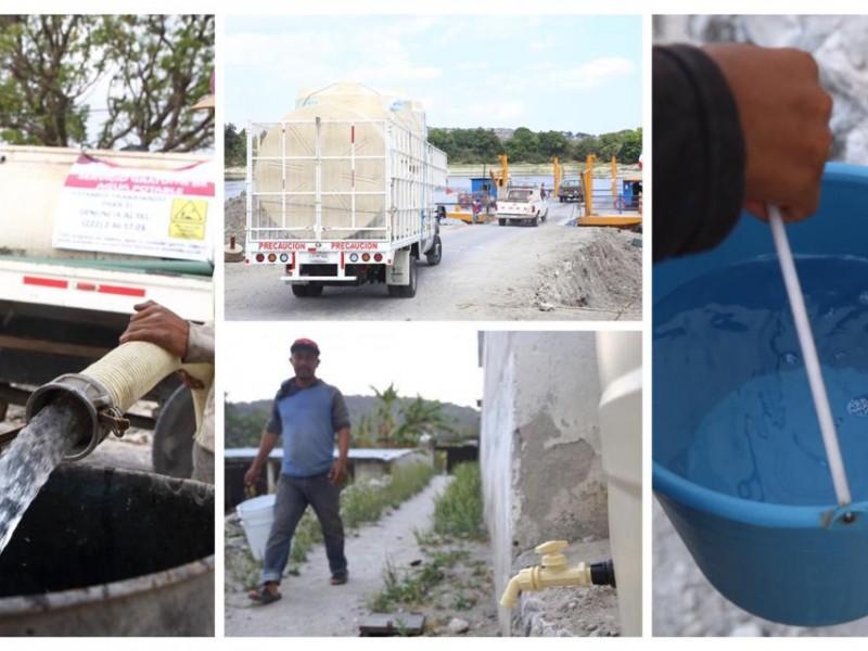 Extienden programa el Agua es tu Derecho hasta concluir pandemia