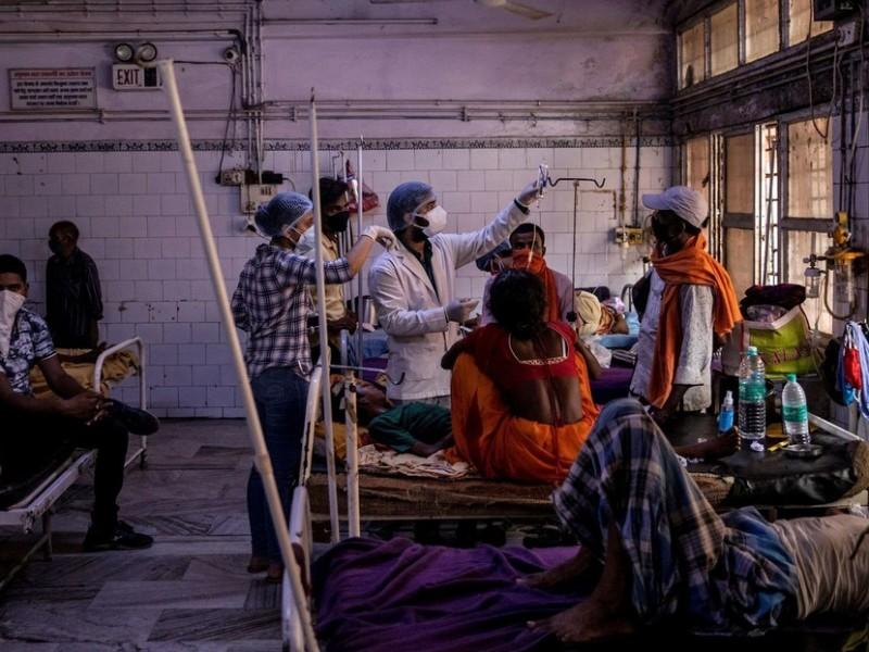 Extraña enfermedad deja un muerto y 300 hospitalizados en India