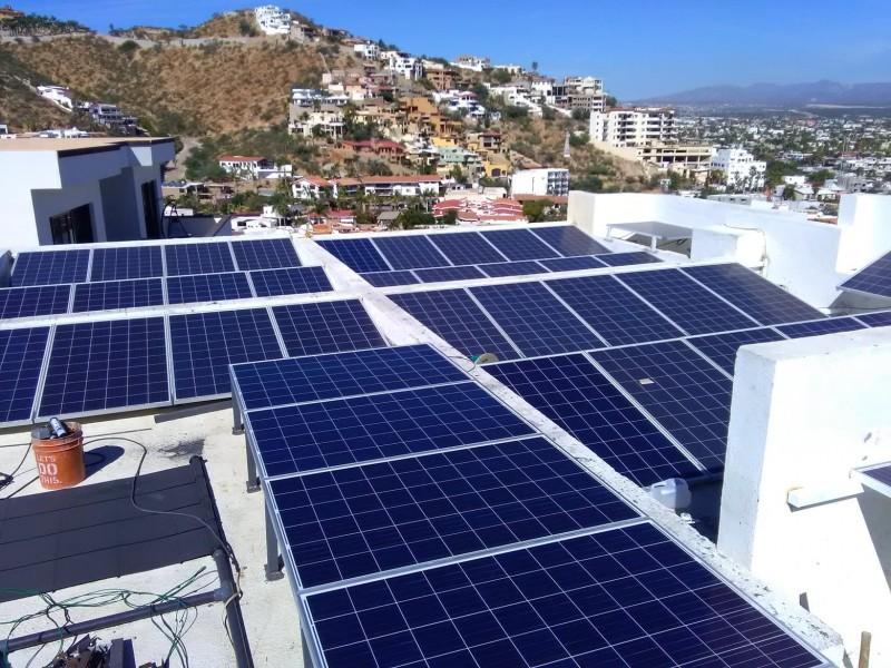 Extranjeros, principales compradores de paneles solares en BCS