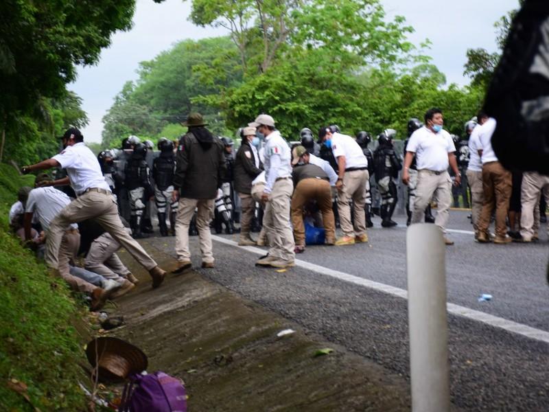 EZLN reprueba política migratoria en Chiapas, denuncian trato inhumano
