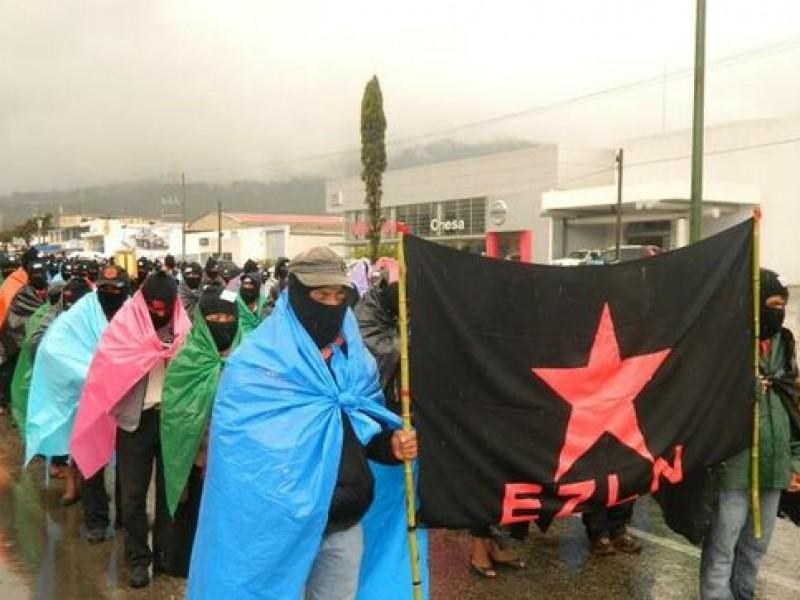 EZLN se pronuncia contra megaproyectos