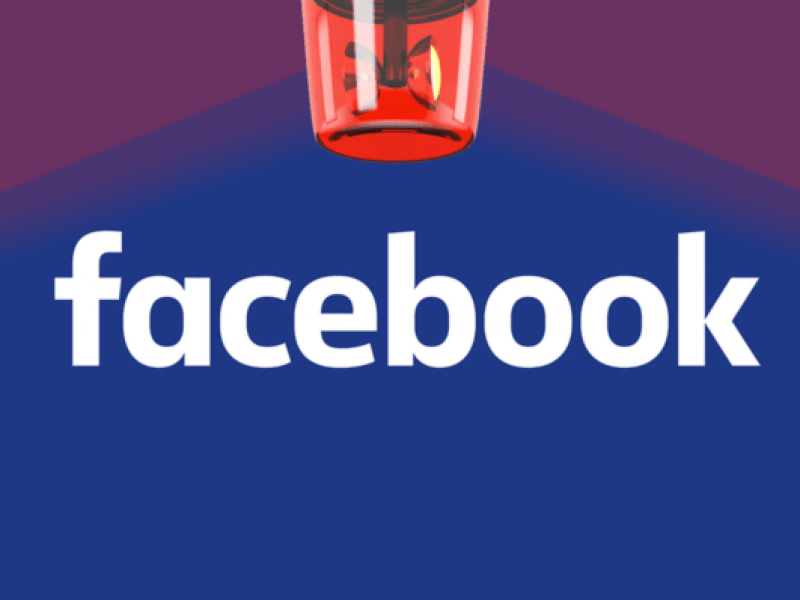 Facebook pierde millones de dólares en minutos