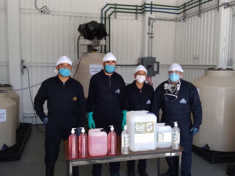 Facultad de Química de la UAEM crea gel antibacterial