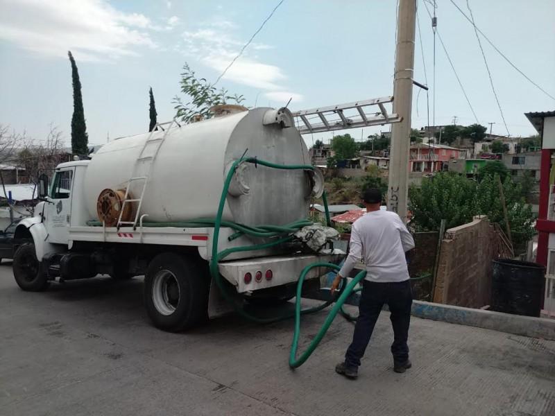 Falla en pozo provoca falta de suministro de agua