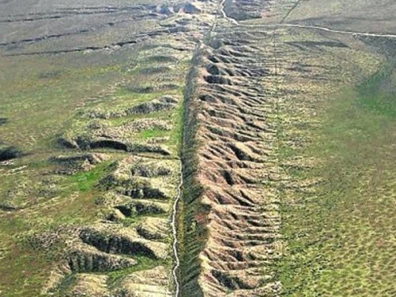 NASA identifica falla geológica entre México y EUA