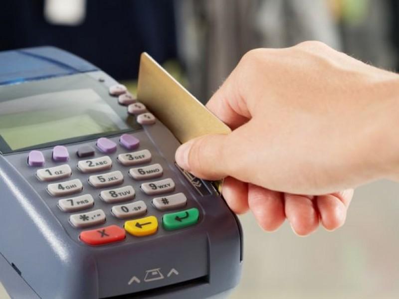 Fallas en sistema de pagos por tarjeta