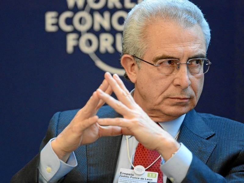 Fallé en política antidrogas, admite Zedillo