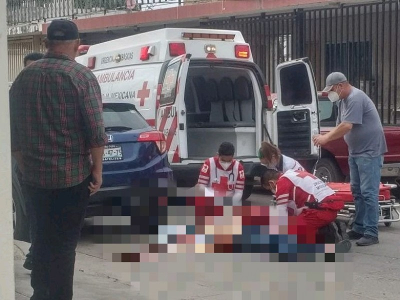 Fallece adulto mayor baleado en asalto en Culiacán
