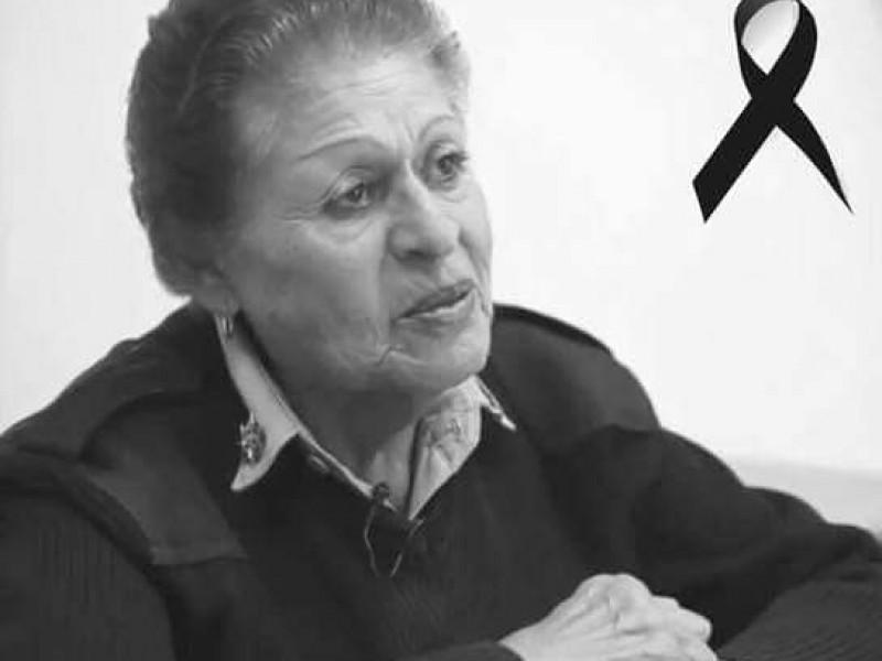 Fallece Aurora López, primer mujer Tránsito en Zacatecas