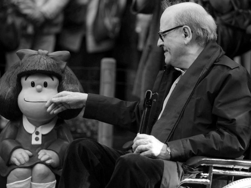 Fallece el dibujante argentino Quino, creador de Mafalda
