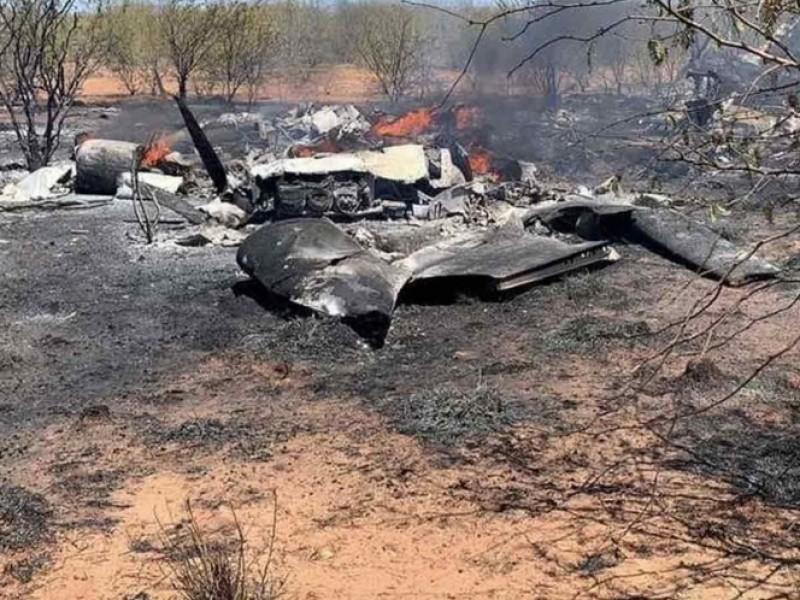 Fallece funcionario tras caída de aeronave en Sonora