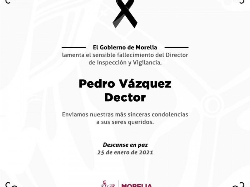 Fallece Pedro Vázquez, director de Inspección y Vigilancia por Covid-19