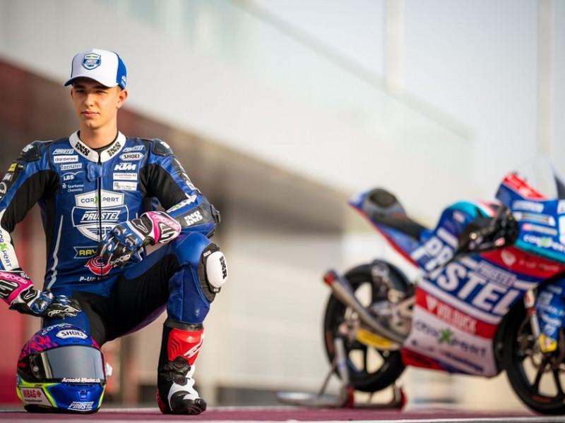 Fallece piloto de 19 años en el Moto GP