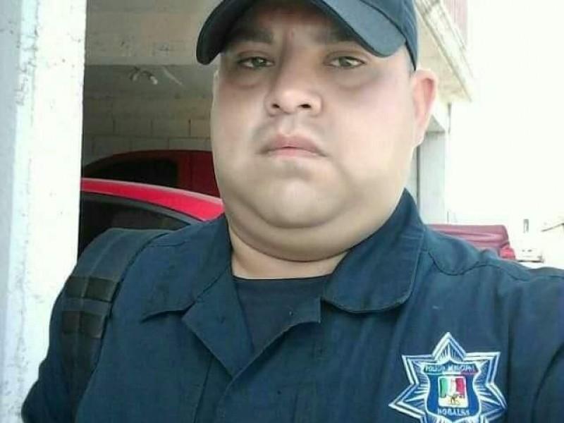 Fallece policía auxiliar por covid 19
