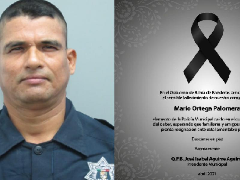 Falleció policía lesionado tras ataque en Bahía de Banderas