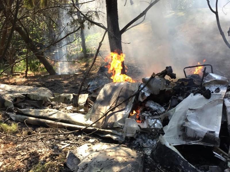 Fallecen dos personas tras caída de aeronave
